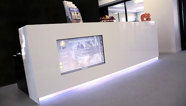 affichage dynamique publicit sur lieu de vente plv num rique sequence productions. Black Bedroom Furniture Sets. Home Design Ideas